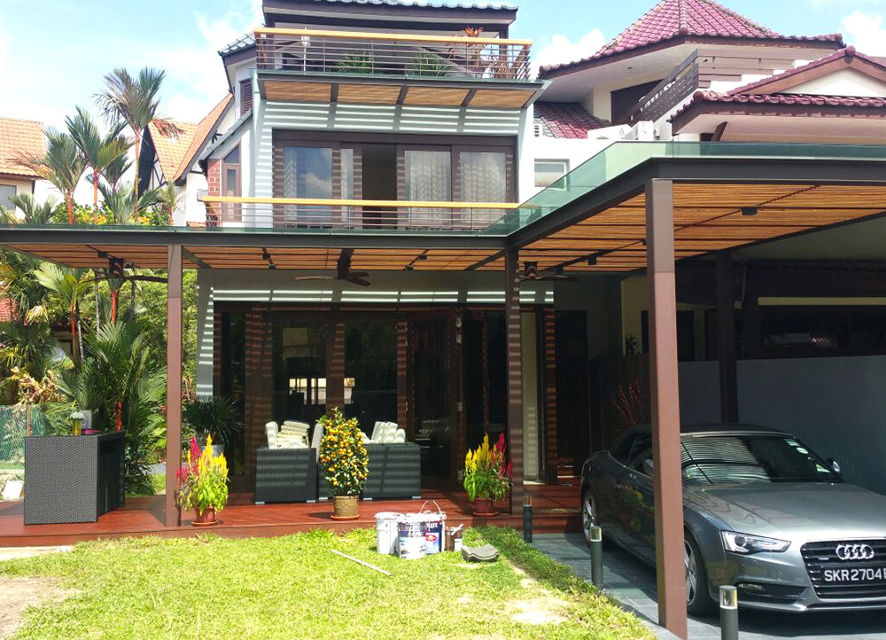 Newmaster Pte Ltd - Awning and Roofing Singapore