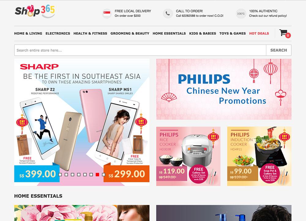 Shop365   Online Shopping Singapore   QRMart Magazine Singapore