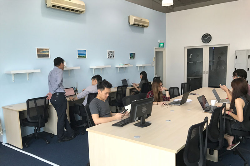 OneSpace Singapore coworking space