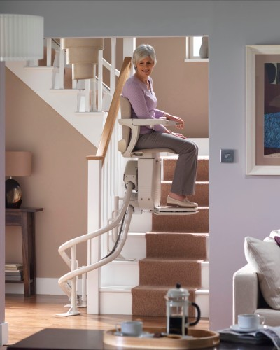 stairlifts for straight or curved stair cases