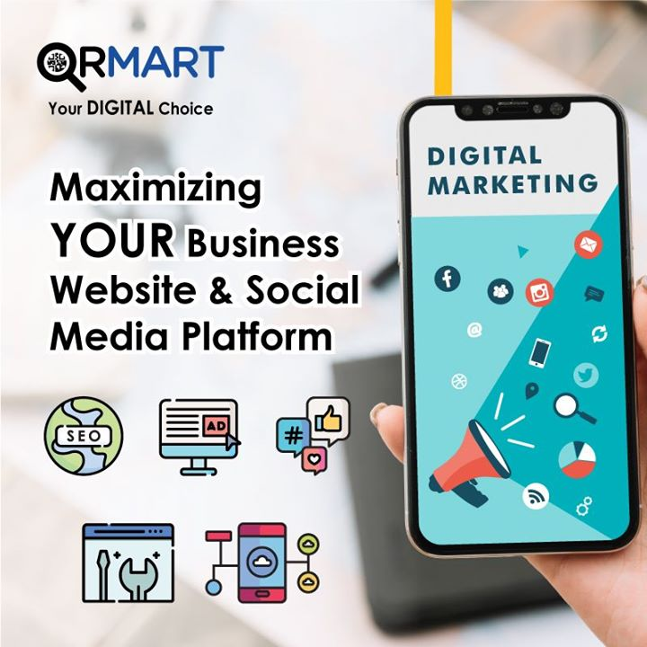 QRMART - Digital Marketing Agency in SIngapore