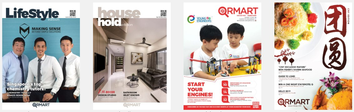QRMART Magazine Publications